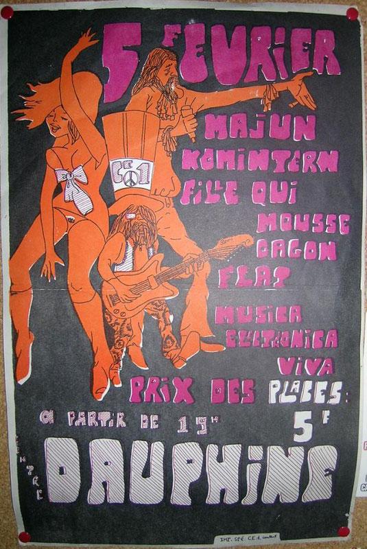 Histoire du mouvement hippie - Page 2 Affiche-dauphine2